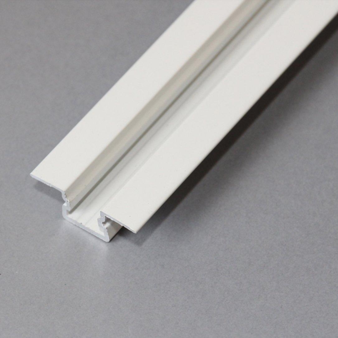 Aluminium omega profiel wit